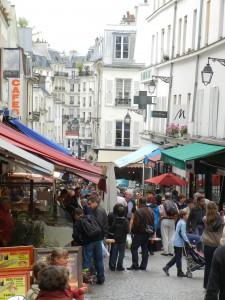 market street Mouffetard