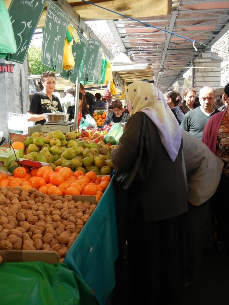 Paris market 18th