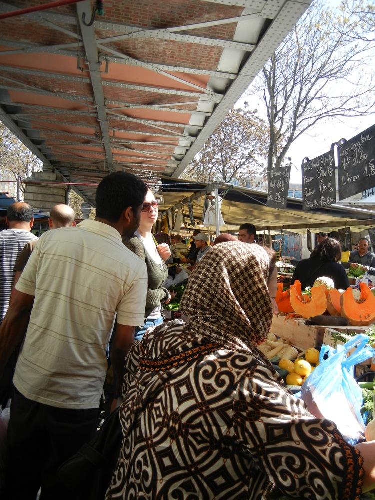 Paris Barbes market