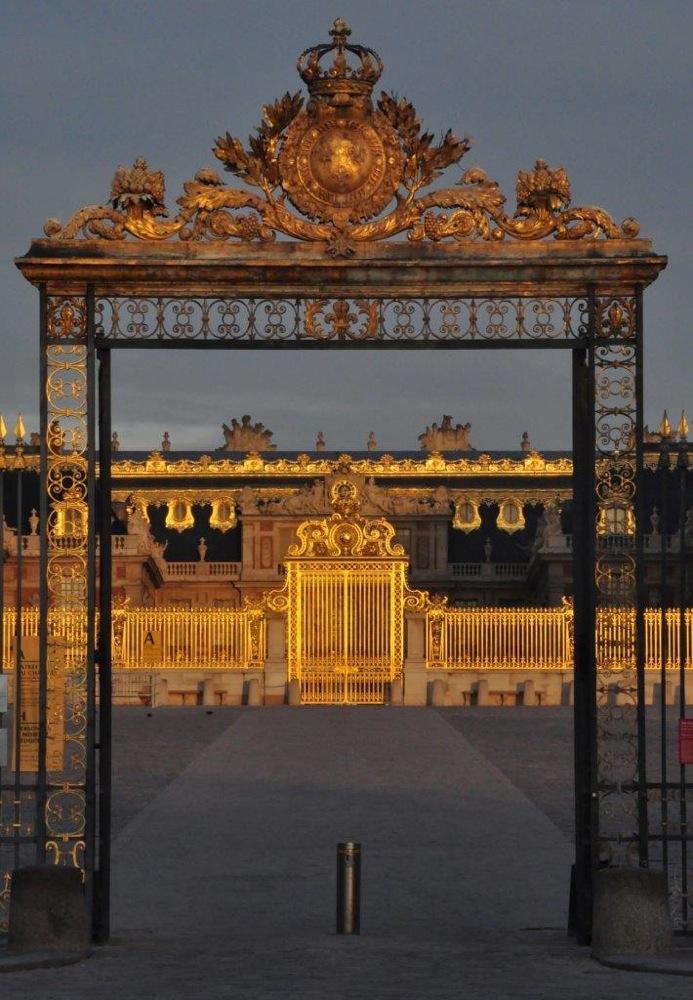 Sunrise at Versailles