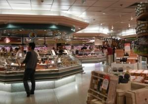 Galeries Lafayette food hall