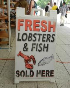 Harvard market lobster