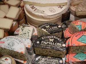 buying cheese in Paris
