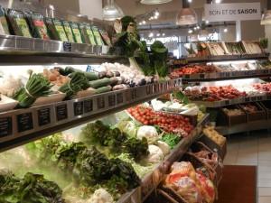 buying fresh produce in Paris