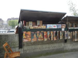 bookseller on Seine