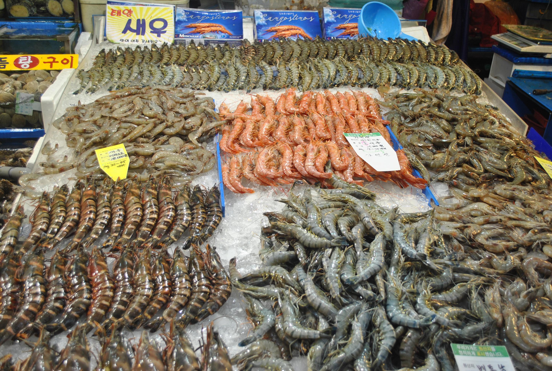 Noryangjin fish market seoul south korea for River fish market