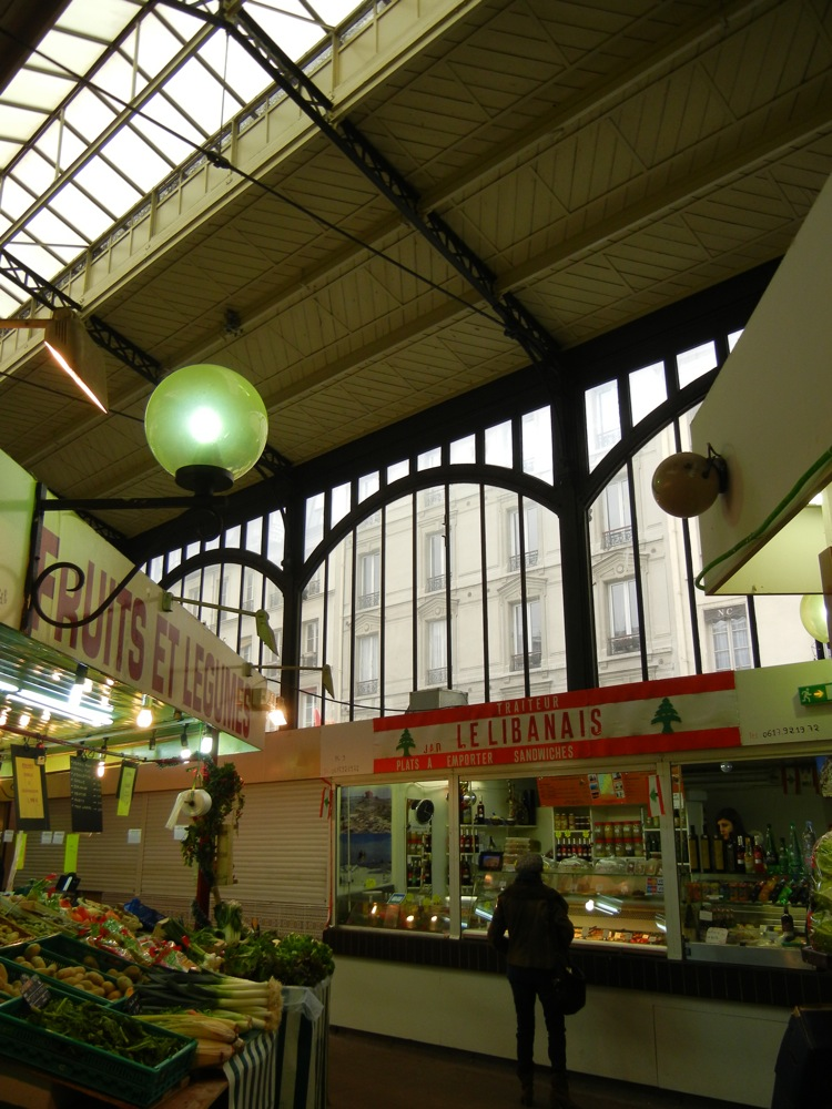 covered market Paris
