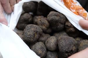 black diamond truffles