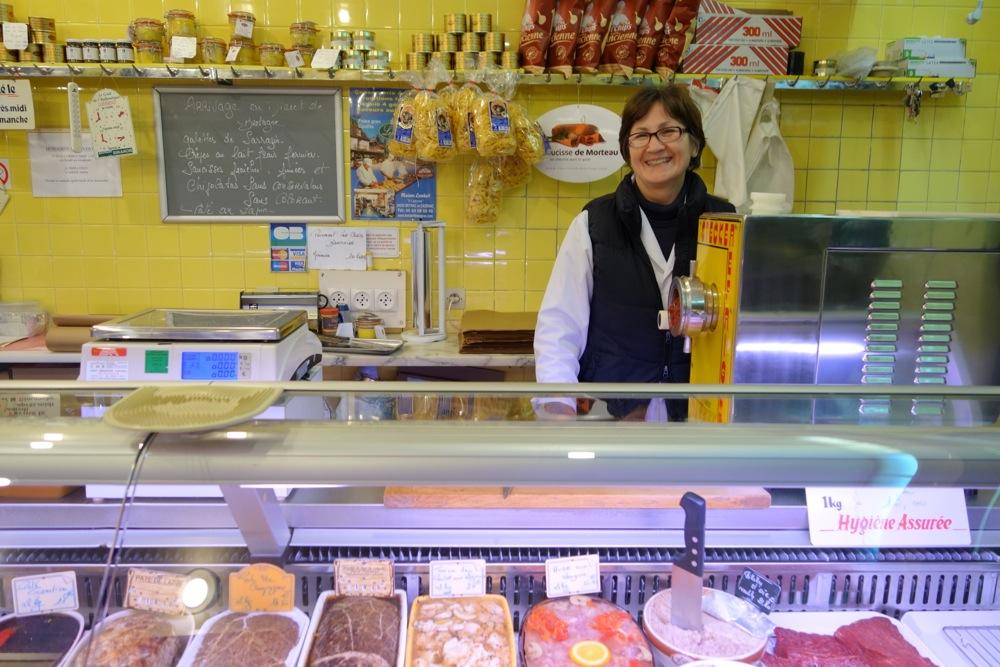 horse meat shop Paris