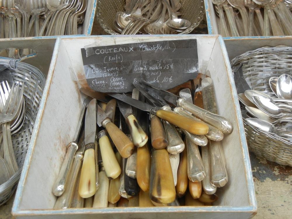 antique cutlery Paris