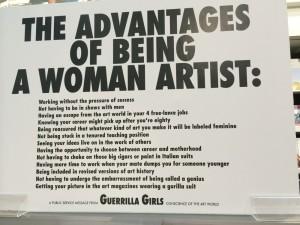 Guerilla Girls Tate Modern