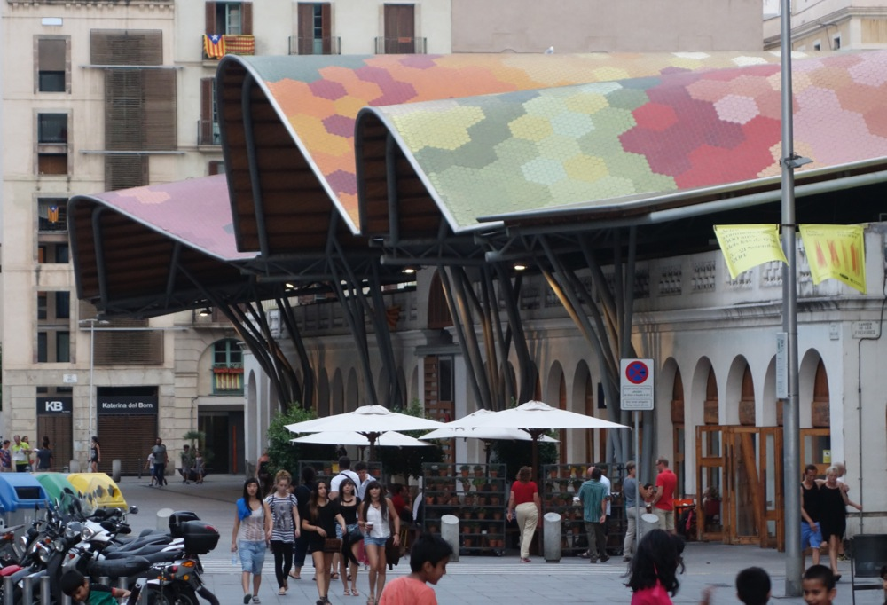 Barcelona market Santa Caterina