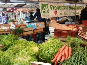 Batignolles organic market Paris