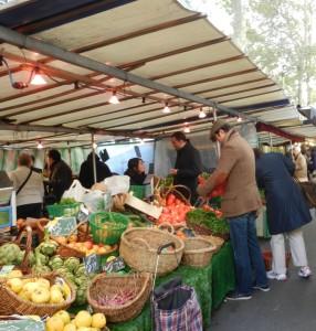 Raspail Organic Market Paris
