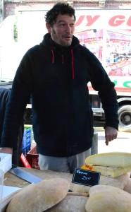 Rouen cheese seller