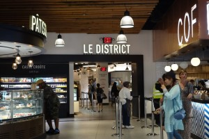 Le District café and pâtisserie