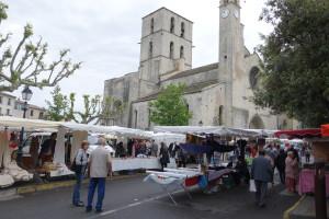 Forcalquier France market