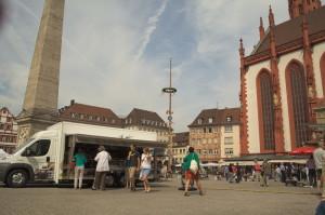 Wuerzburg market