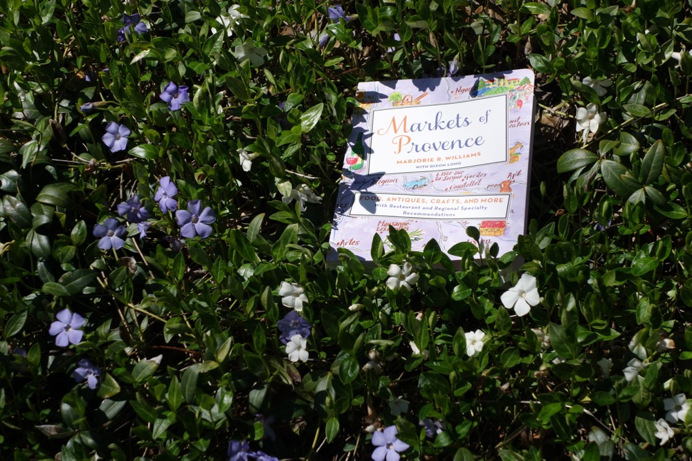 Markets of Provence book in flowers