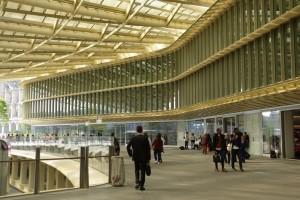La Canopée & Forum des Halles (inside/downstairs shops & metro)