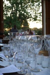 wine pairings James Beard dinner