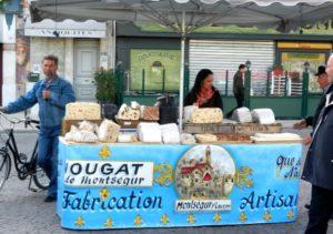 nougat vendor L'Isle-sur-la-Sorgue Provence