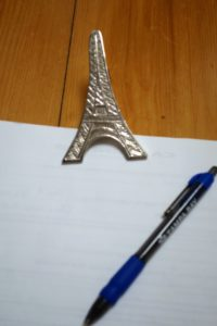Eiffel Tower paper clip
