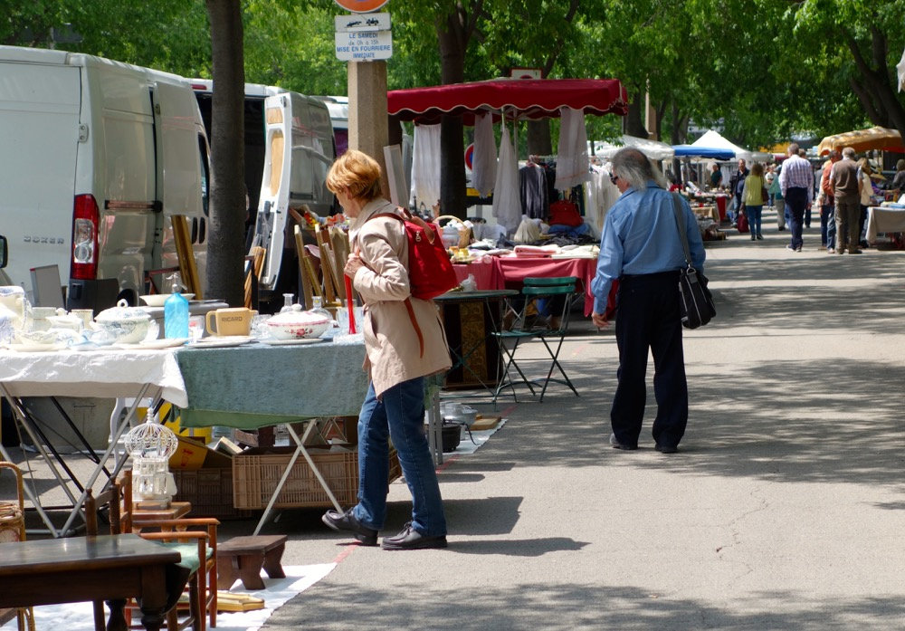 flea market Paris
