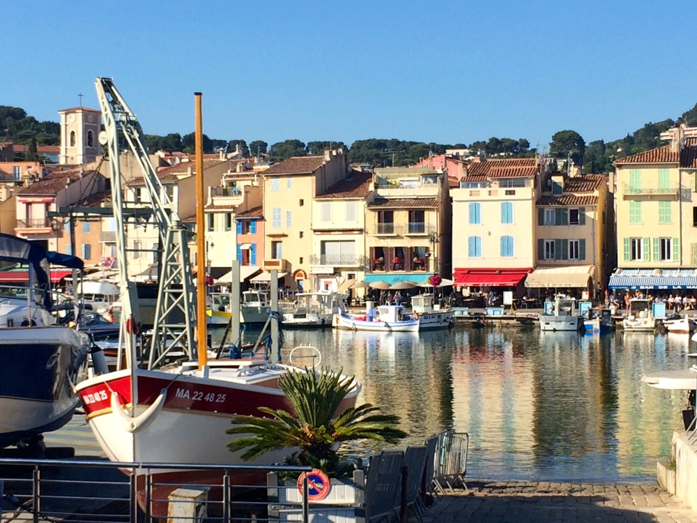 Cassis France fishing port