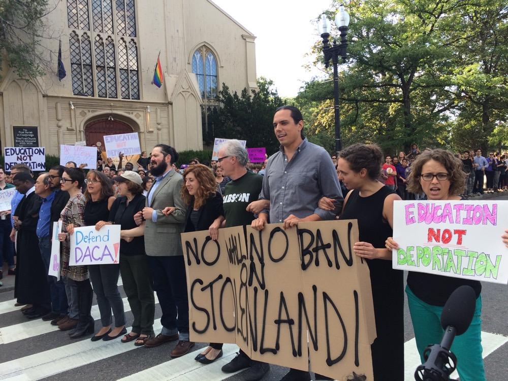 Harvard protest DACA