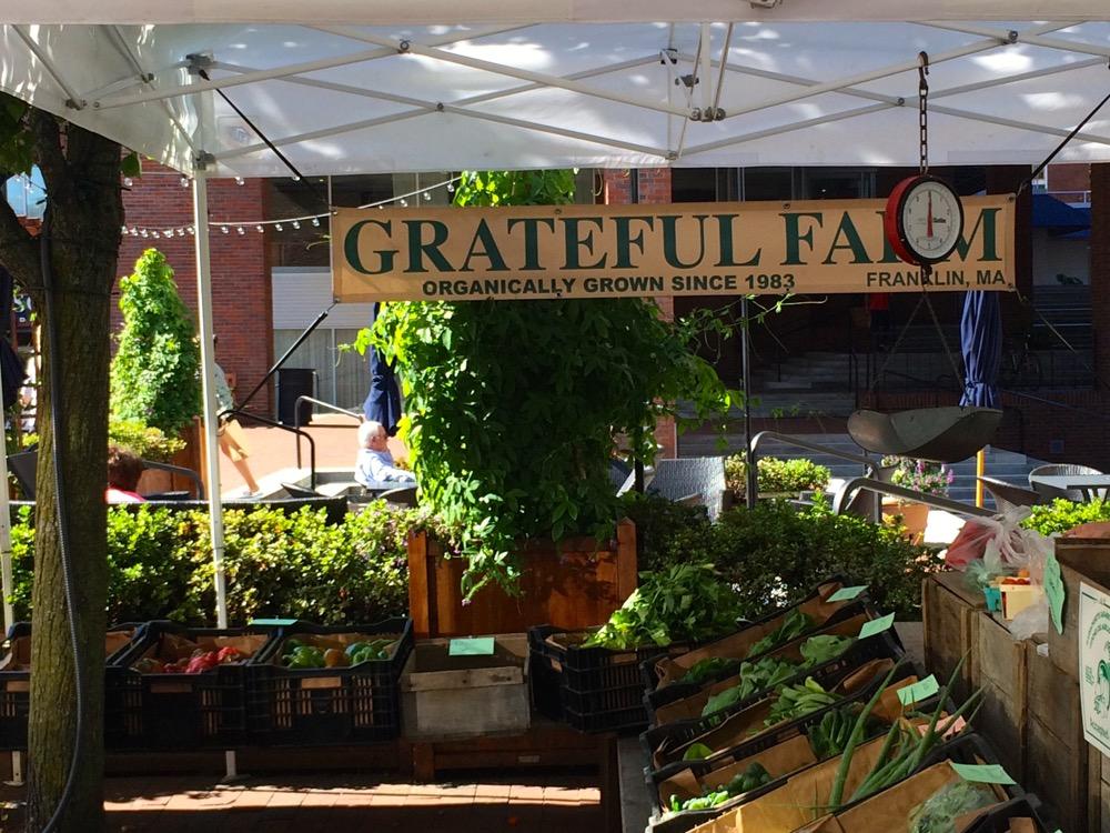 Charles farmers market Grateful Farm