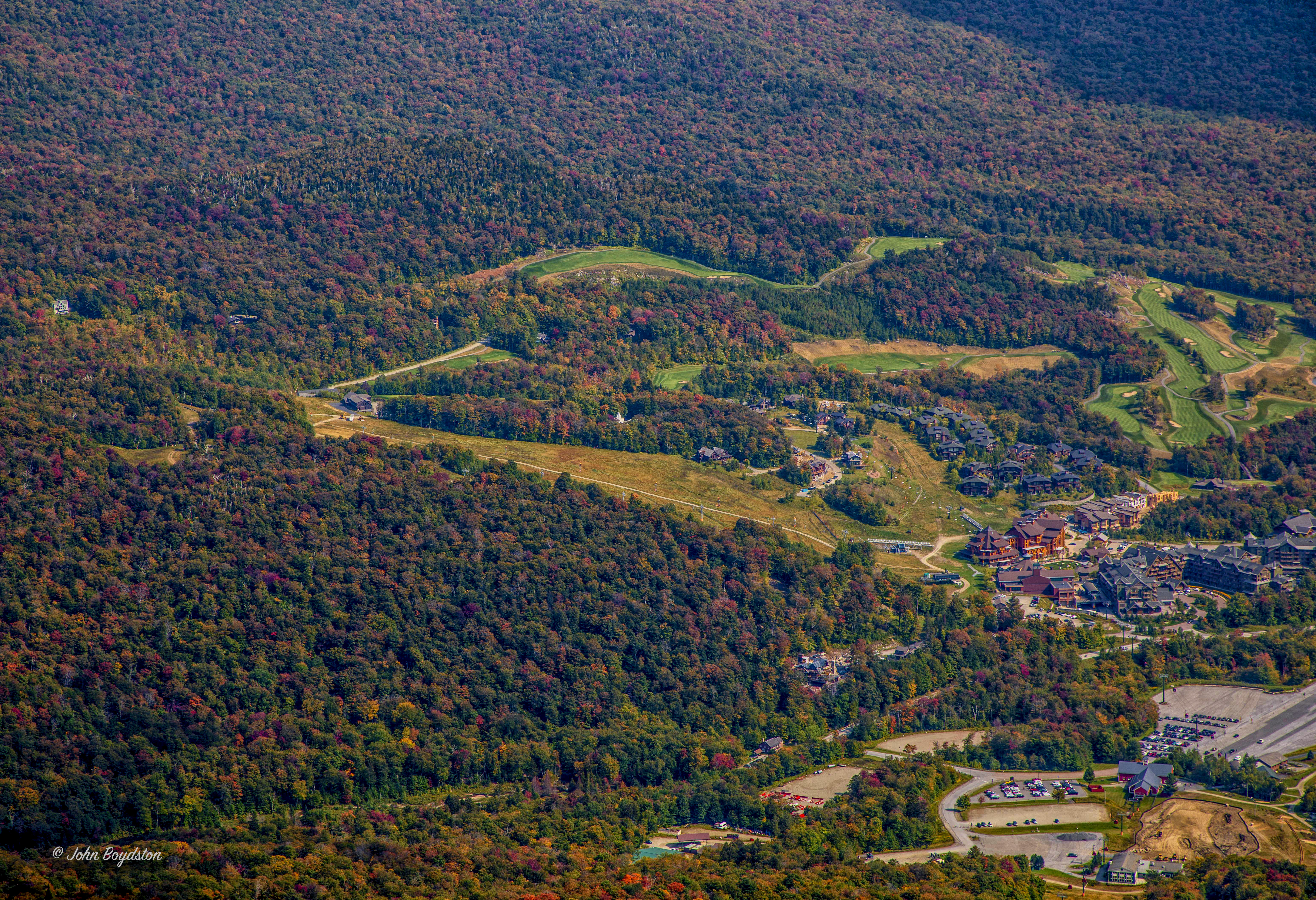 Stowe Mountain foliage