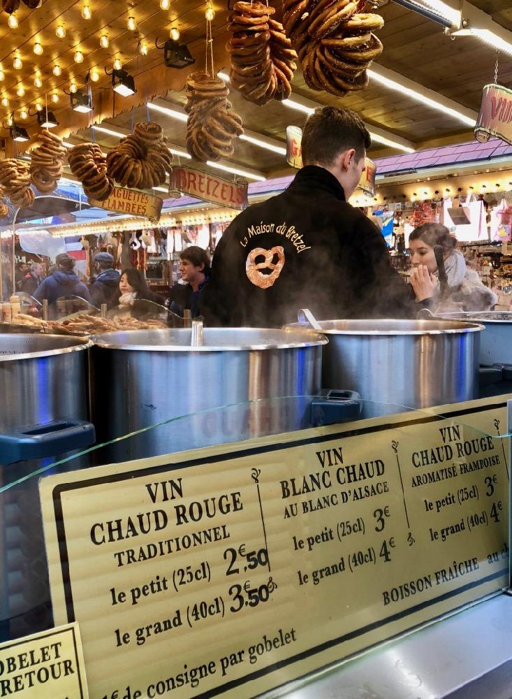 vin chaud Christmas market