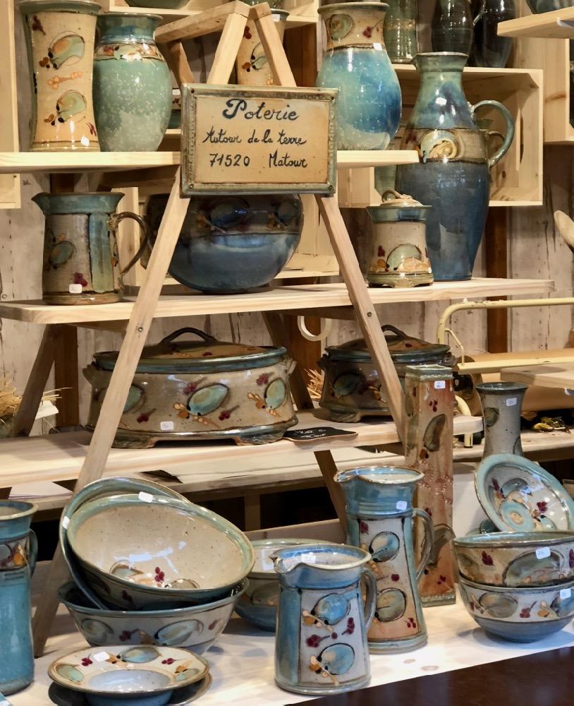 ceramics Strasbourg Christmas market