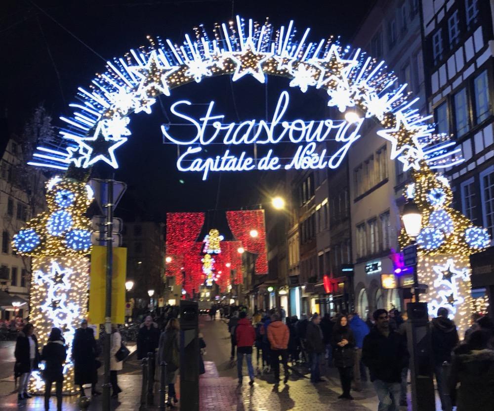 Strasbourg Noël Christmas market
