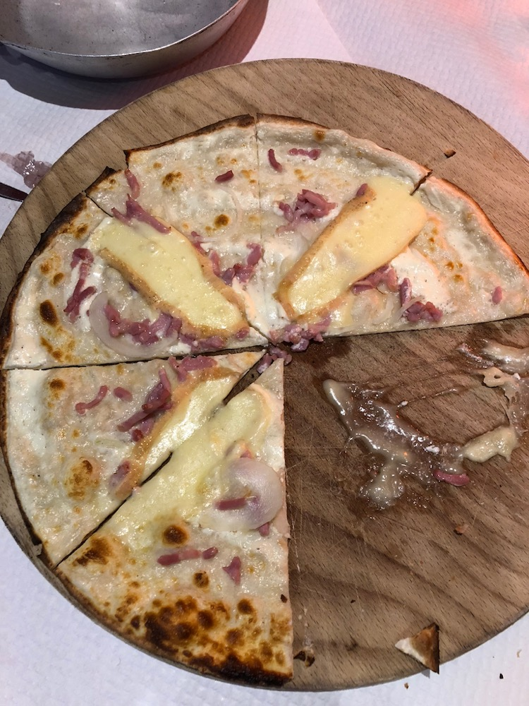 Alsace tarte flambée