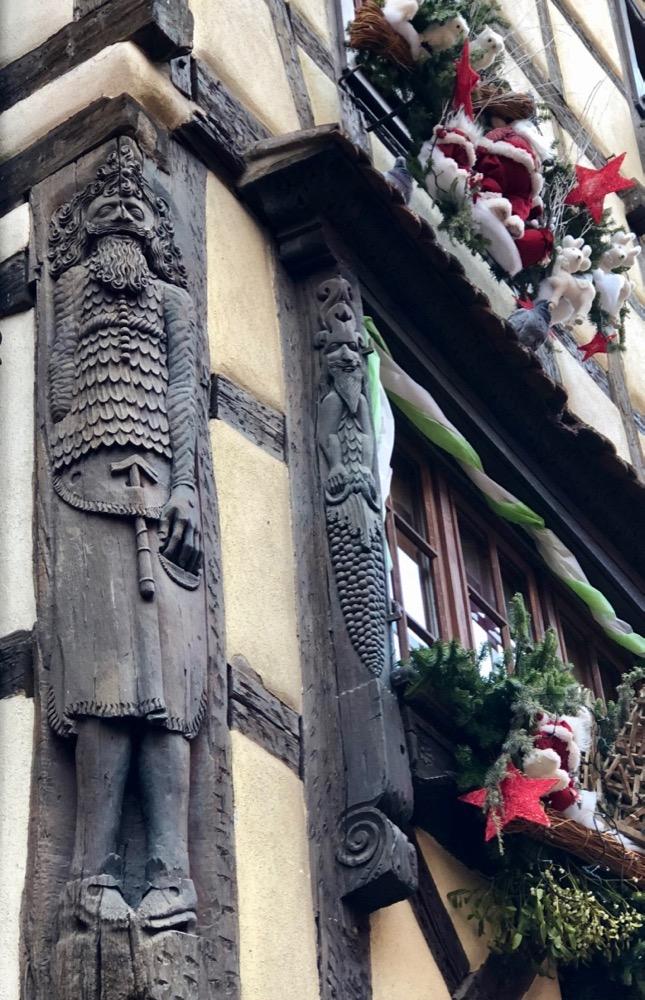 architecture RIquewihr Alsace