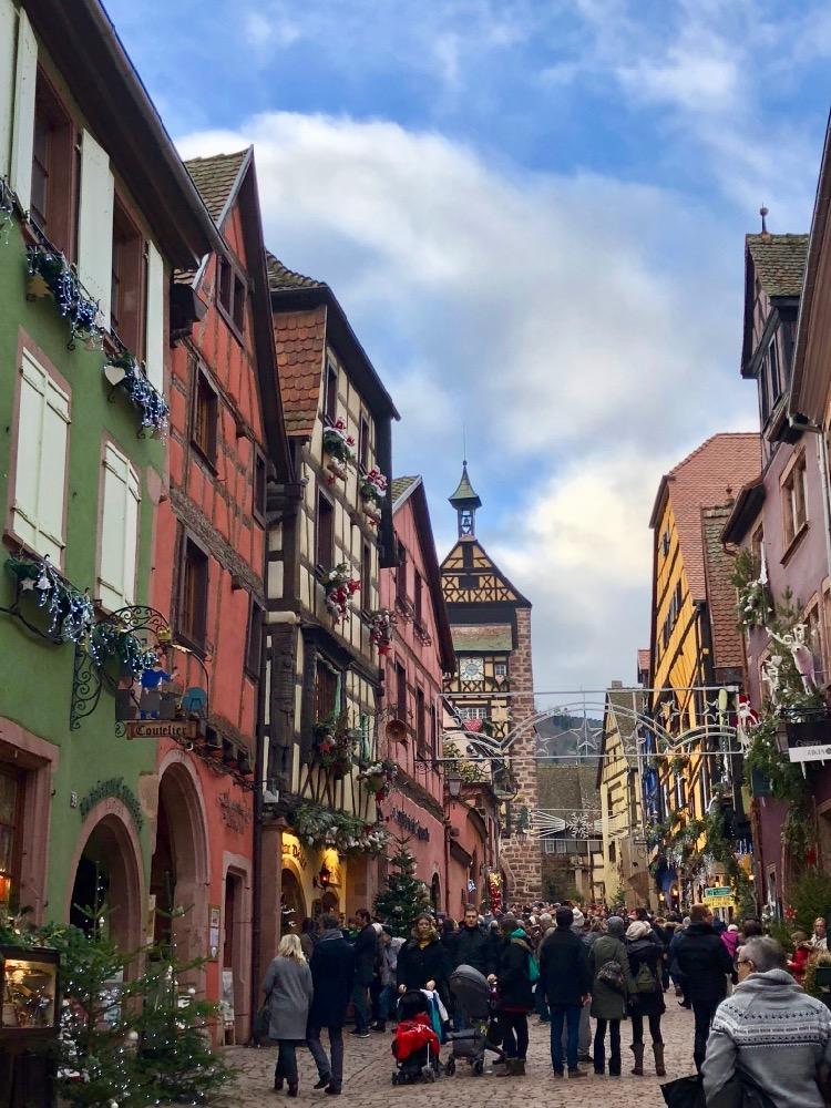 Riquewihr Alsace wine route