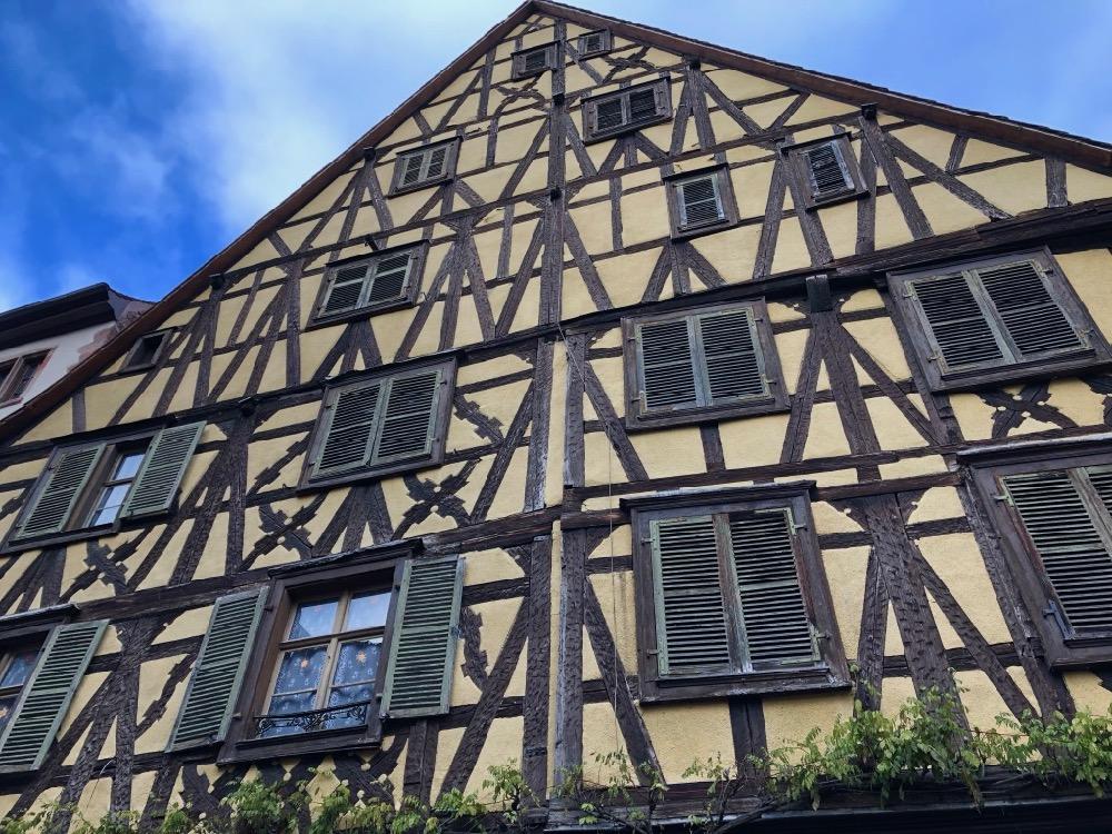 gratte ciel Riquewihr Alsace