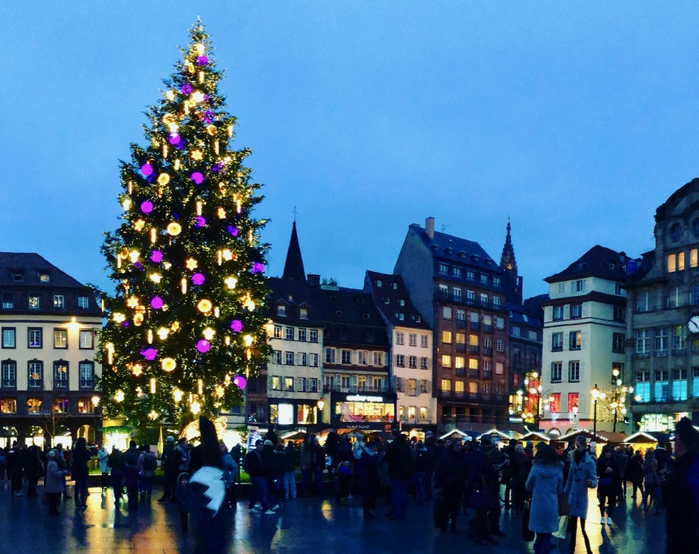 Strasbourg France Christmas Time.Christmas Markets Of Strasbourg Marjorierwilliams Com