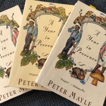 A Year in Provence book Peter Mayle