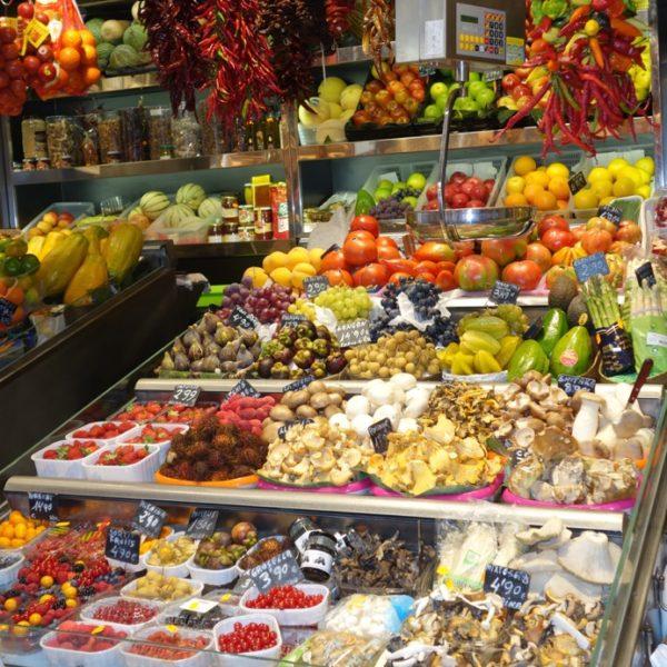Barcelona. La Boqueria market.