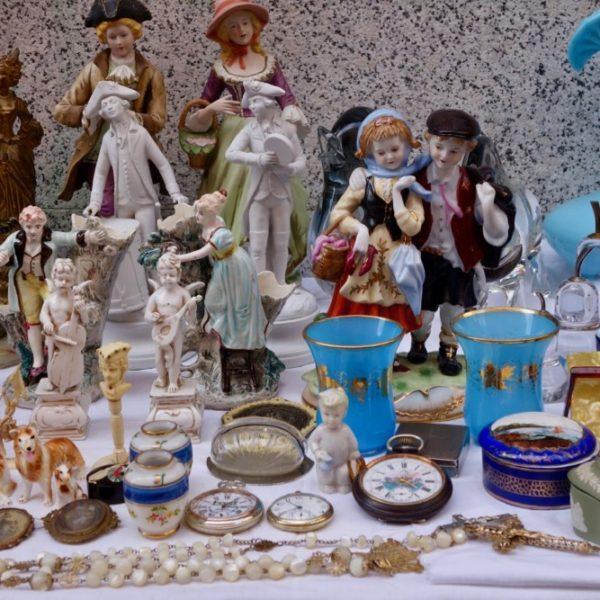 Items at flea market